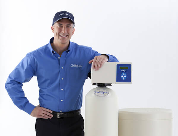 man-with-water-softener