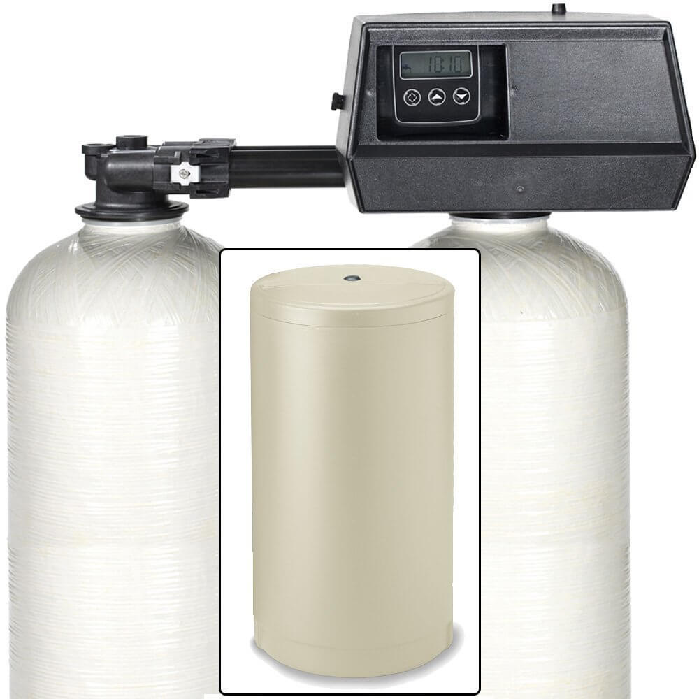 Review Of Fleck 9100sxt Dual Tank Water Softener Water