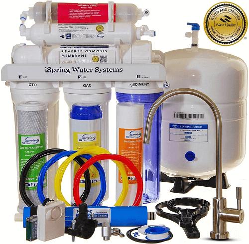 Review Of Ispring Rcc7ak Reverse Osmosis Water Filter